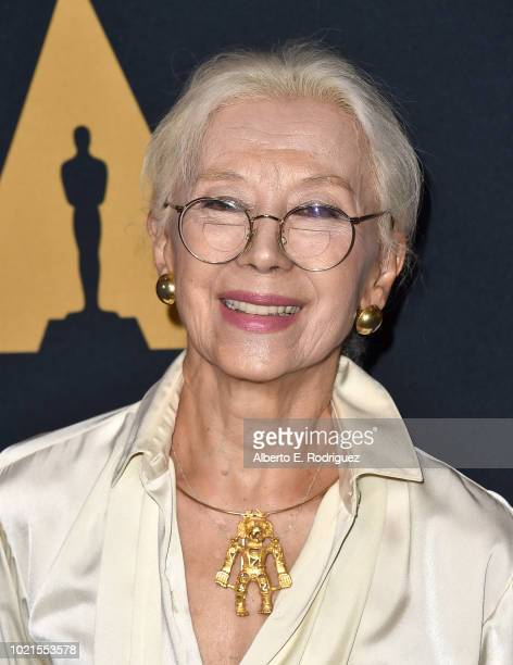 France Nuyen attends The Academy Presents The Joy Luck Club 25th Anniversary at The Samuel Goldwyn Theater on August 22 2018 in Beverly Hills...