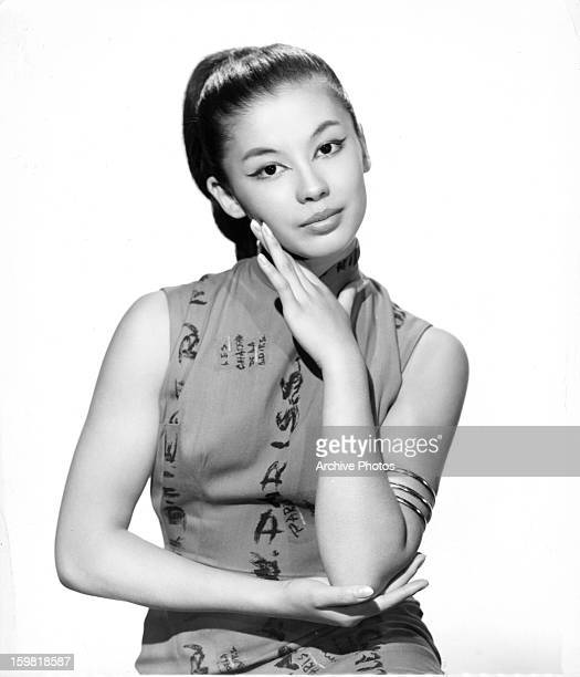 France Nuyen in publicity portrait for the film 'South Pacific' 1958