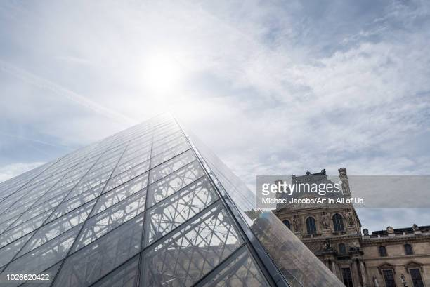 Pyramide du Louvre designed by IM Pei