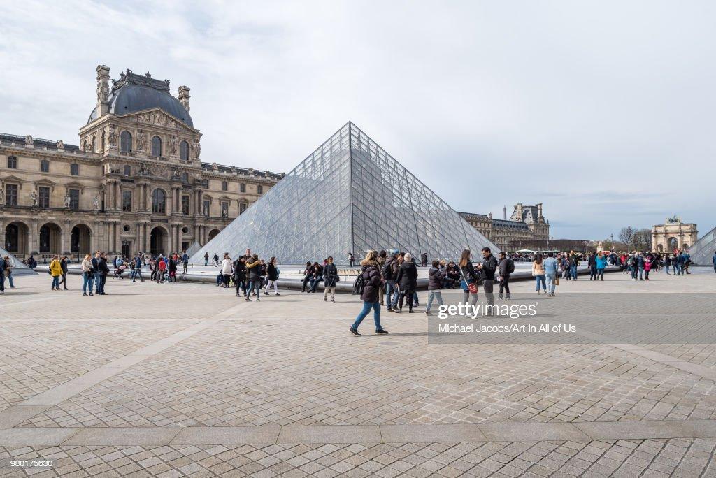 Musée du Louvre, Paris, France : News Photo