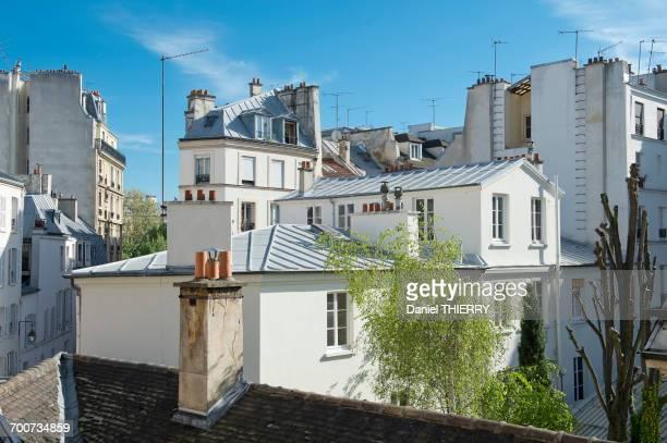 France, Paris, 3rd district. The Marais. Buildings, rue Charlot