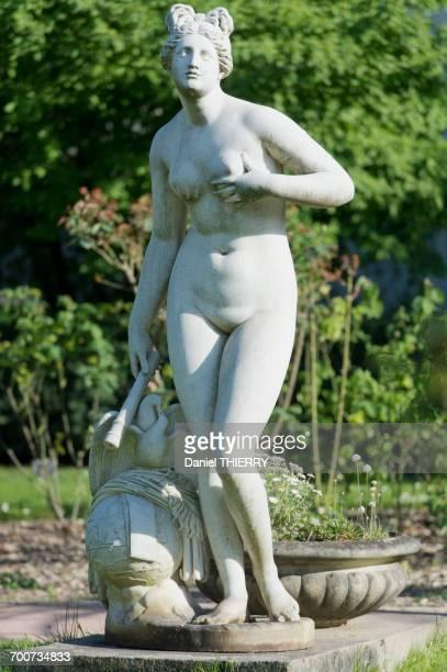 France, Paris, 5th district. Jardin des plantes. The statue Venus Genitrix by Louis-Charles Dupaty (1818)
