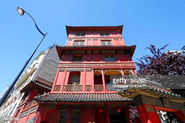 France, Paris. 8th district. Paris Pagoda.
