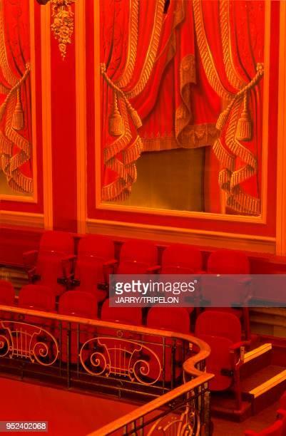Paris 9th arrondissement the Nouvelle Athenes district the Theatre de l'Oeuvre France Paris 9ème arrondissement quartier de la Nouvelle Athènes le...