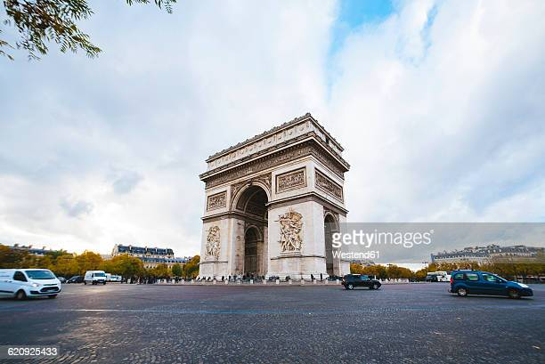 france, paris, arc de triomphe - パリ凱旋門 ストックフォトと画像