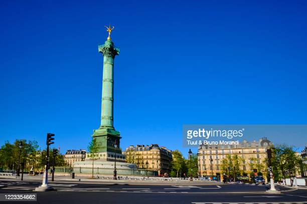 france, paris, bastille square - bastille stock pictures, royalty-free photos & images