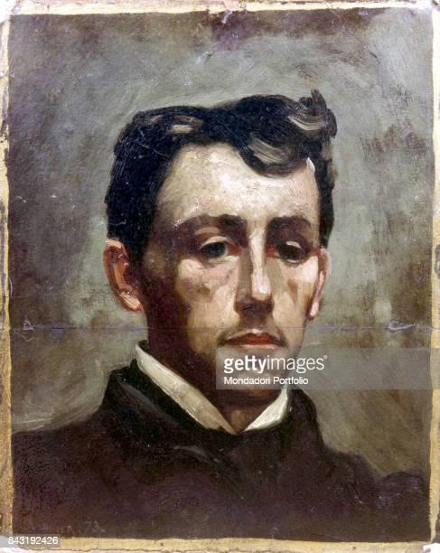 France Paris Collection Jacques Dupin Whole artwork view Portrait of French poet Arthur Rimbaud