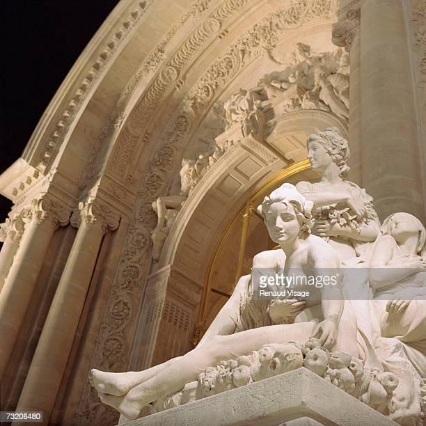 France, Paris, entrance to the Petit Palais
