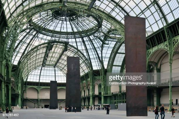 France, Paris, Grand Palais, Architect Charles-Louis Girault.