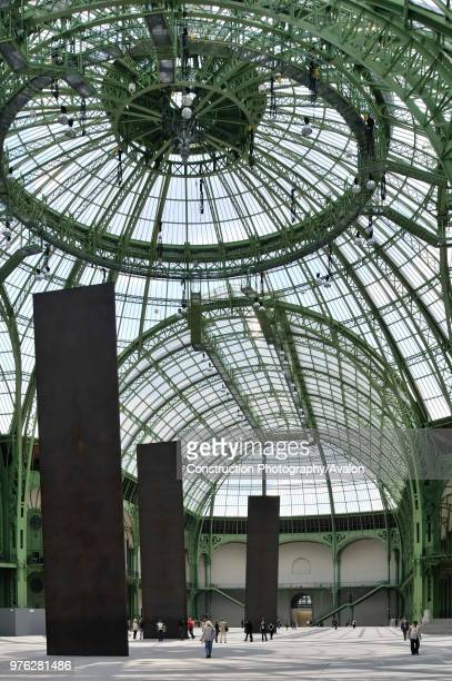 France, Paris, Grand Palais, Architect Charles-Louis Girault.