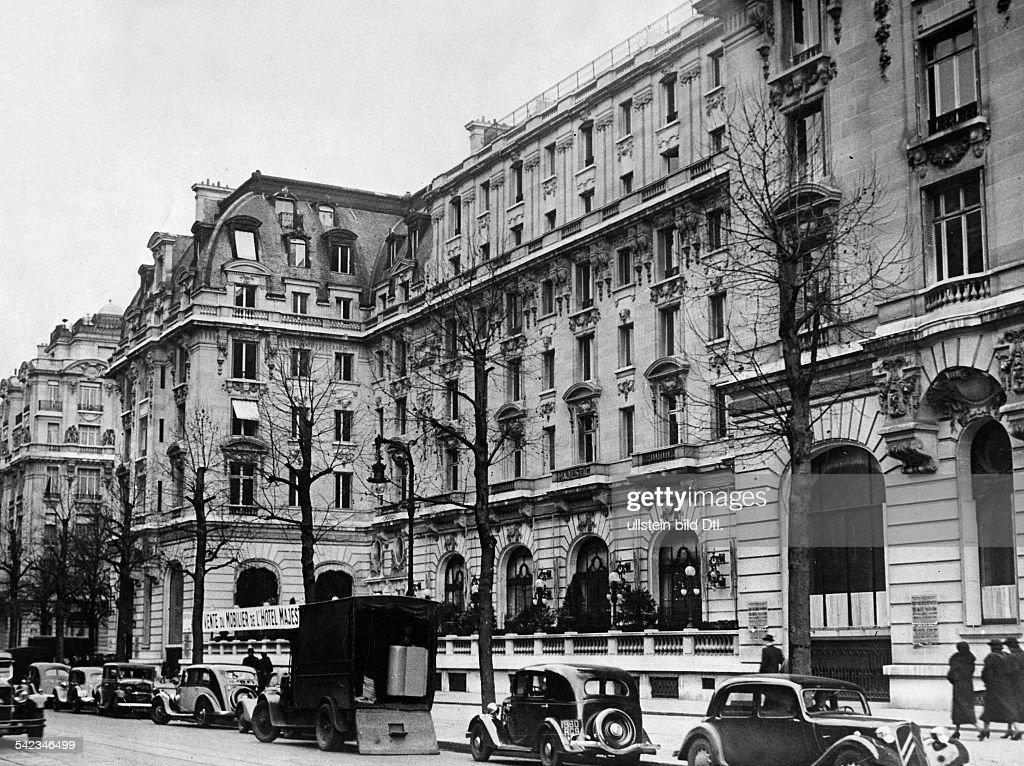 Hotel Majestic Around 1937