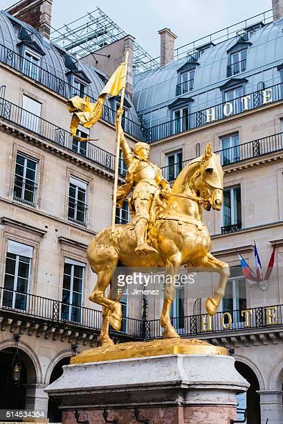 France, Paris, Joan of Arc statue
