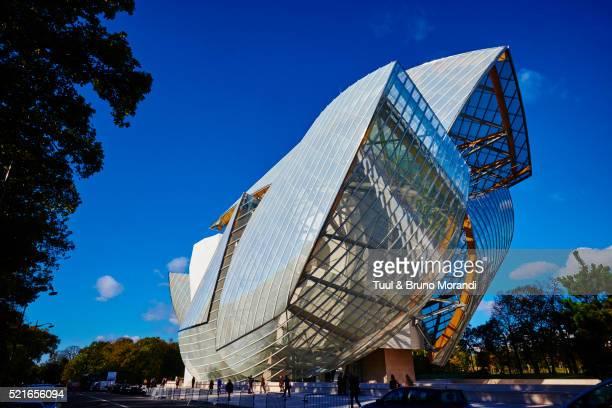 France, Paris, Louis Vuitton Foundation