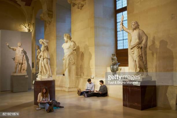 France, Paris, Louvre museum