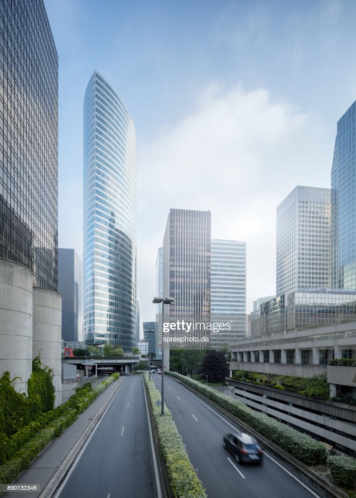 France Paris Modern Architecture La Defense Stock Photo Getty Images
