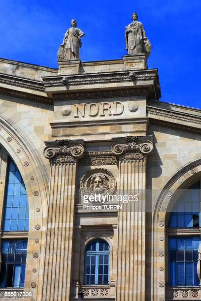 france, paris, north railway station - gare du nord stock pictures, royalty-free photos & images