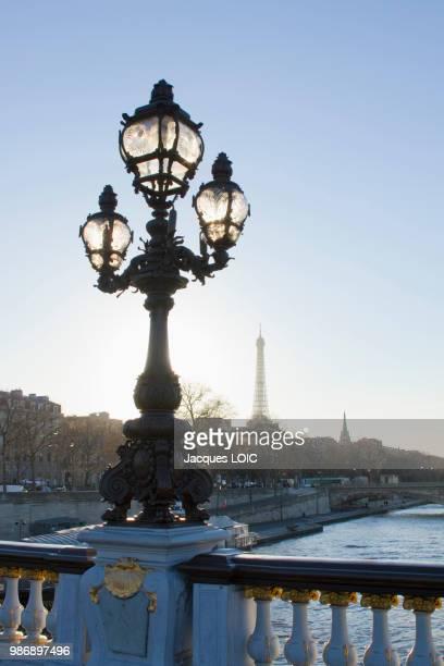 france, paris, pont alexandre-iii. - pont alexandre iii photos et images de collection
