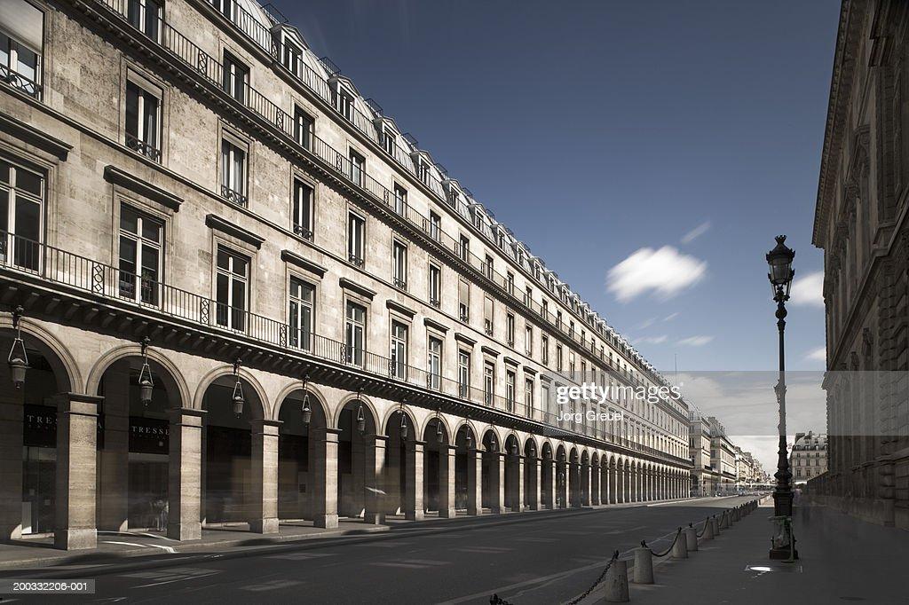 France, Paris, Rue de Rivoli : Photo