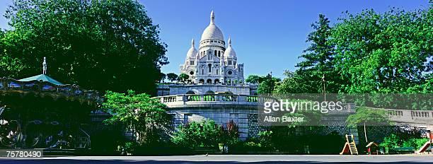 France, Paris, Sacre-couer cathedral