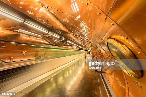France Paris steampunk style subway station Arts et Metier