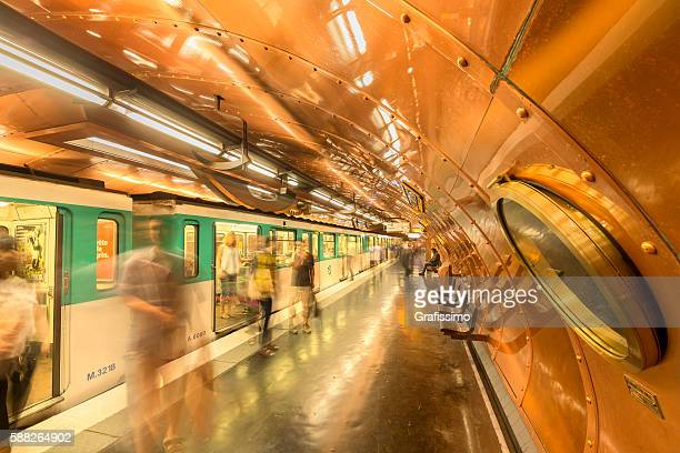 France Paris steampunk style subway station Arts et Metier