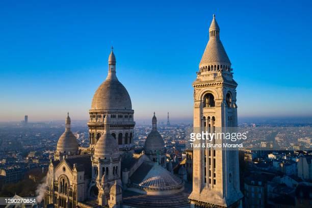france, paris, the basilica of the sacre coeur - paris france stock pictures, royalty-free photos & images