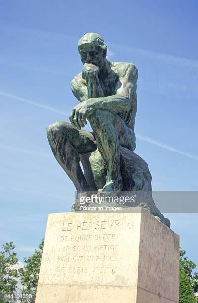 France Paris The Thinker Rodin Museum
