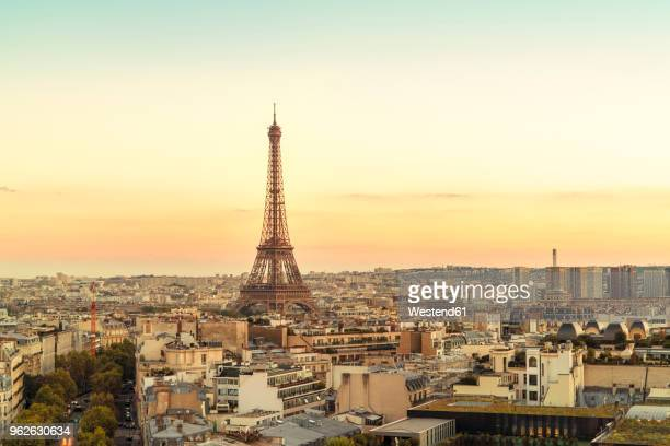 France, Paris, view to Eiffel Tower