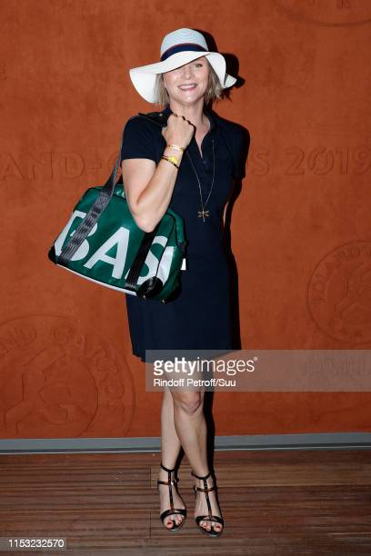 France Pierron attends the 2019 French Tennis Open Day Eight at Roland Garros on June 02 2019 in Paris France
