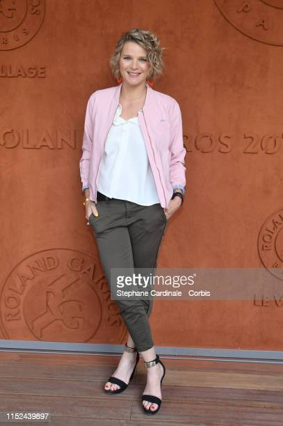 France Pierron attends the 2019 French Tennis Open Day Four at Roland Garros on May 29 2019 in Paris France