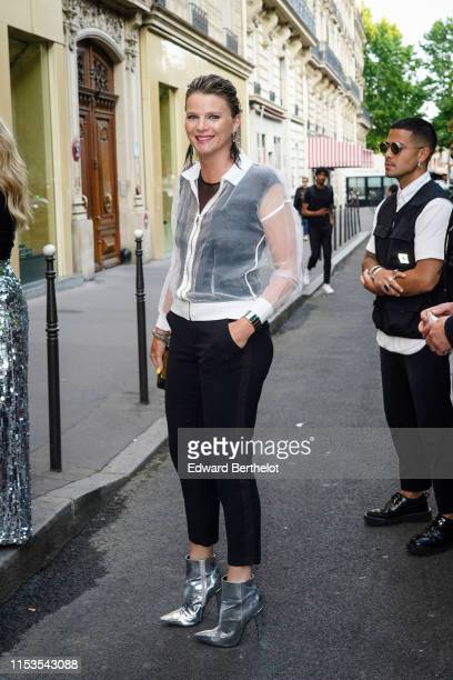 France Pierron attends the Bionic ShowGirl Premiere at Le Crazy Horse on June 03 2019 in Paris France