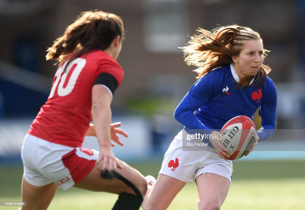 Wales v France - Women's Six Nations : Photo d'actualité