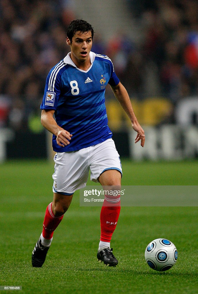 France player Yoann Gourcuff in action during the group 7 FIFA2010 World Cup Qualifier between France and Lithuania at Saint Denis, Stade de France on April 1, 2009 in Paris, France.