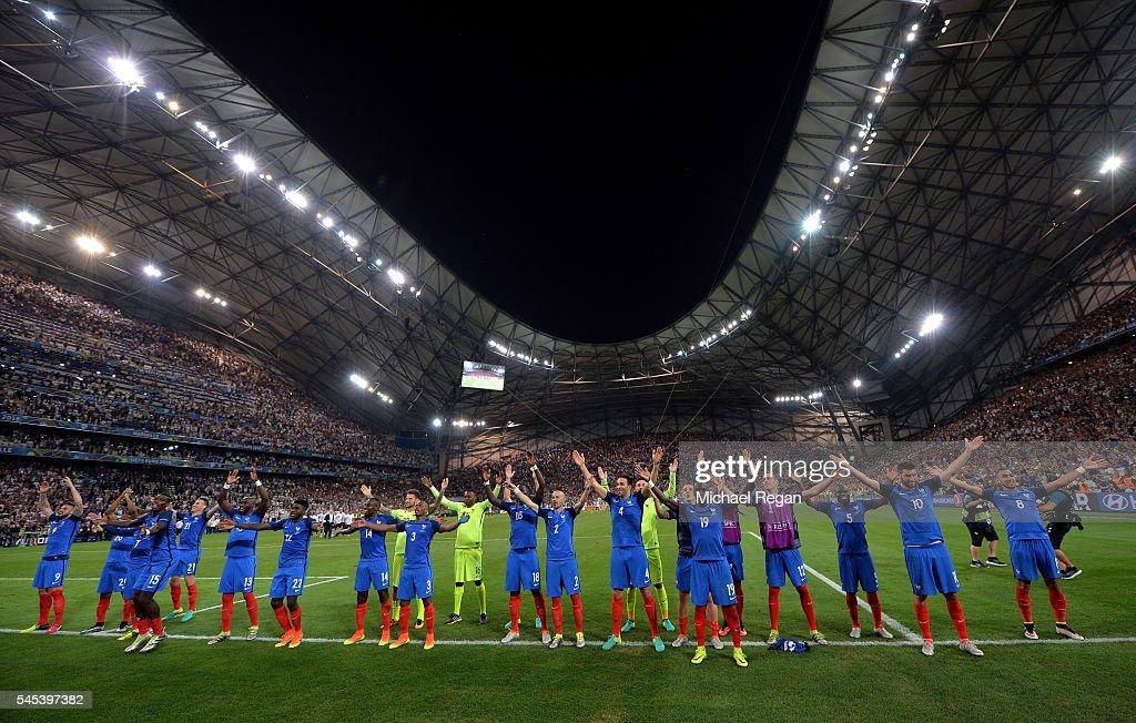 Germany v France - Semi Final: UEFA Euro 2016 : Photo d'actualité