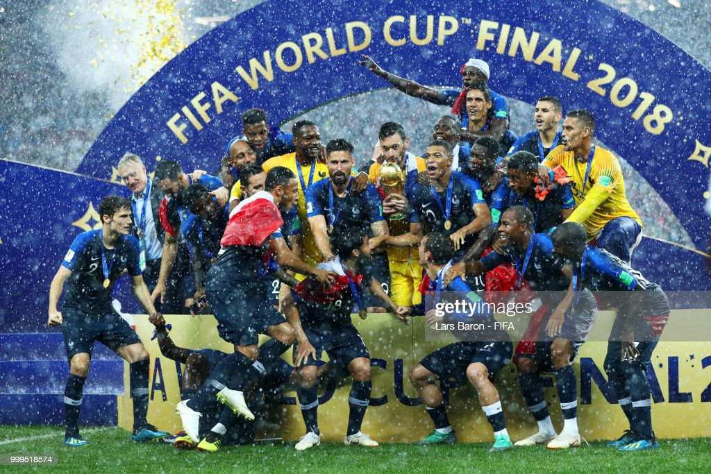 France beat Croatia 4 - 2 to win the 2018 World Cup Final in Russia