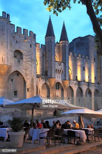 France, Provence, Avignon, Palais des Papes, palace,