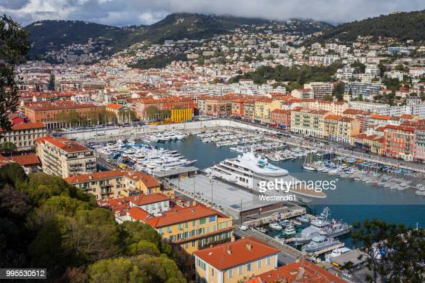 france, provence-alpes-cote d'azur, nice, port lympia - nice france stock pictures, royalty-free photos & images