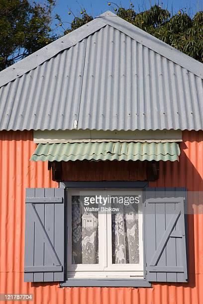 France, Reunion Island, South Reunion, Langevin village, Pink house