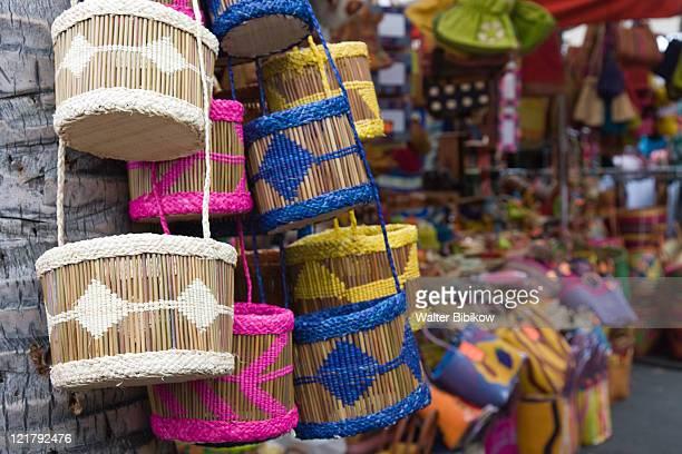 France, Reunion Island, St-Paul, Handbags for sale
