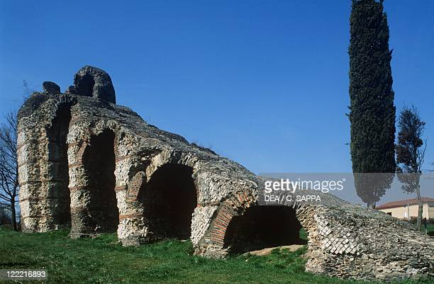 France RhoneAlpes Chaponost Roman aqueduct of the Gier river 1st century bC