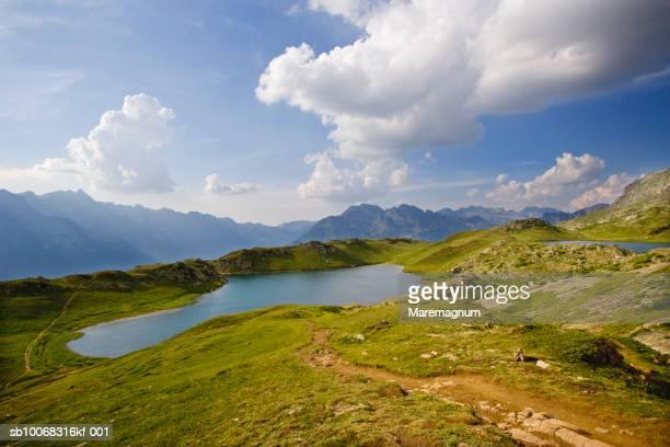 france, rhone-alpes, isere, alpe d'huez, lac noir - イゼール県 ストックフォトと画像