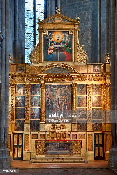 France, Saint Maximin la Sainte Baume, Sainte Marie Madeleine basilica