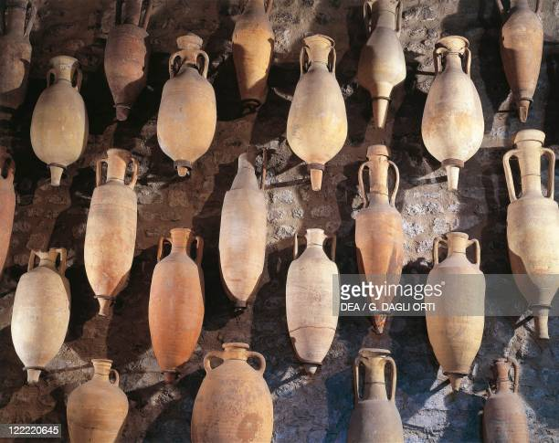 France SaintRomainenGal Amphoras found in the storehouses