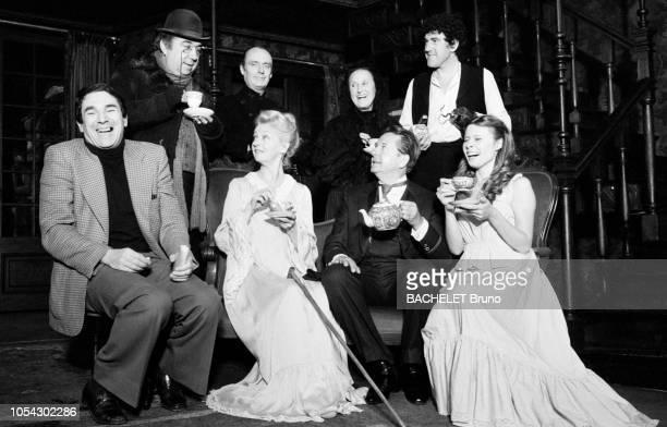 France Septembre 1978 la pièce Le cauchemar de bella Manningham de Frédéric Dard mise en scène de Robert HOSSEIN avec Candice PATOU Jean DESAILLY...