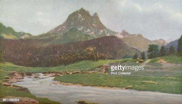 France. Some of the finest scenery in the Pyrenees is to be fund in the Vallee d'Ossau between Arudy and Gabas. At the head of the valley is the...