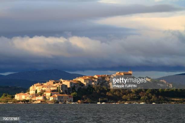 France, Southern France, Aude, Bages. Etang Bages-Sigean