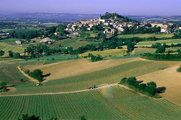 France, Tarn, Pays de Cocagne, Lauragais, Lautrec village
