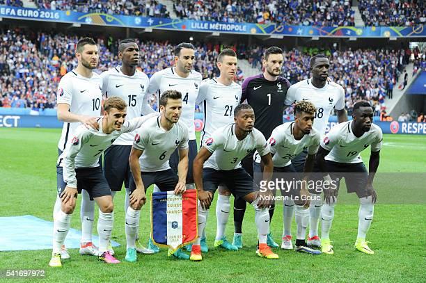 France team Andre Pierre Gignac Paul Pogba Adil Rami Laurent Koscielny Hugo Lloris Moussa Sissoko Antoine Griezmann Yohan Cabaye Patrice Evra...