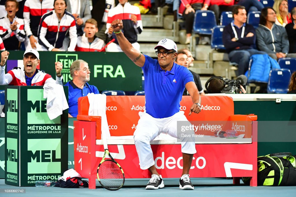 Davis Cup - Semi Final - Day 1 : News Photo
