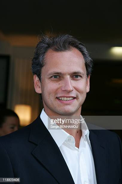 France Televisions Press Conference At The Salle Pleyel In Paris France On August 30 2007 Louis Laforge